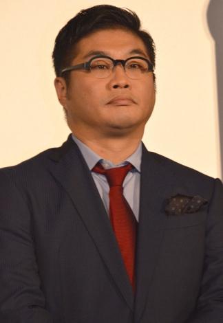 『進撃の巨人 ATTACK ON TITAN エンド オブ ザ ワールド』初日舞台あいさつに登壇した松尾諭 (C)ORICON NewS inc.
