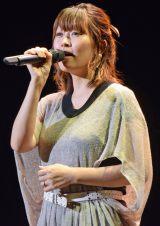 今年7月27日に長女出産後、初めてステージに立った坂本美雨 (C)ORICON NewS inc.