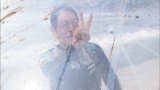 アクアボールは簡単という大杉漣だが…9月27日放送、テレビ朝日系『イチから住 〜前略、移住しました〜』(C)テレビ朝日