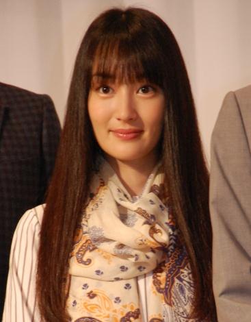 フジテレビ系ドラマ『5→9〜私に恋したお坊さん〜』制作発表会に出席した高梨臨 (C)ORICON NewS inc.