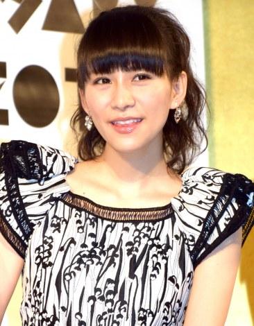 『Perfume ANNIVERSARY 10days 2015 PPPPPPPPPP』の記者発表会に出席したPerfume・あ〜ちゃん (C)ORICON NewS inc.