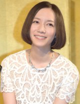 『Perfume ANNIVERSARY 10days 2015 PPPPPPPPPP』の記者発表会に出席したPerfumeのっち (C)ORICON NewS inc.