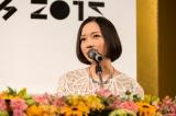 『Perfume ANNIVERSARY 10days 2015 PPPPPPPPPP』の記者発表会に出席したPerfumeのっち 写真:上山陽介(YOSUKE KAMIYAMA