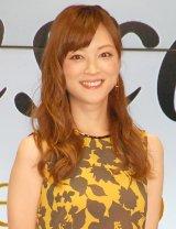 婚約発表後、初めて公の場に登場した吉澤ひとみ (C)ORICON NewS inc.