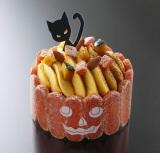 かぼちゃを贅沢に使った『黒猫のスイートパンプキン』