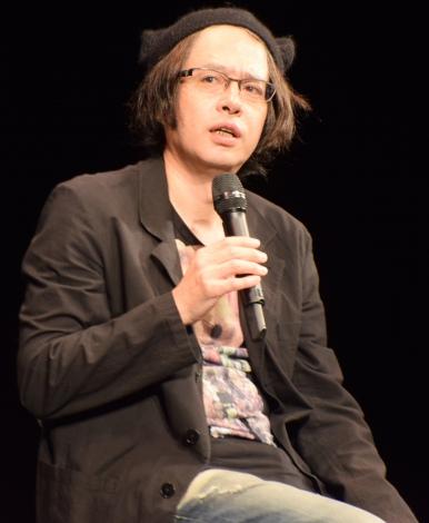 『いぬねこなかまフェス2015〜動物愛護週間にあつまろう〜』に登場した町田康 (C)ORICON NewS inc.