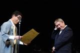 『第8回したまちコメディ映画祭in台東』でコメディ栄誉賞の表彰を受けるビートたけし (C)ORICON NewS inc.