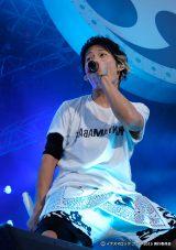 地元滋賀出身のUVERworldは2日連続出場(20日、『イナズマロック フェス 2015』雷神ステージ)
