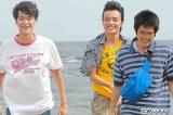 高校生3人組(左から)葉山奨之、岡山天音、上川周作