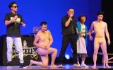 (左から)『大阪ラフフェス!in 中之島6DAYS LIVE』最終日に出演したDJケリー、とにかく明るい安村、レイザーラモンRG、すっちー、吉田裕 (C)ORICON NewS inc.