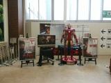 イオンモール広島府中サンギャラリー1Fの展示コーナーではアイアンマンがアントマンの帰りを待っている