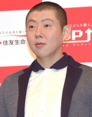 『住友生命新商品「1UP(ワンアップ)」』新CM発表会に出席した荒川良々 (C)ORICON NewS inc.