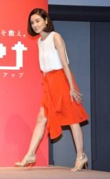 『住友生命新商品「1UP(ワンアップ)」』新CM発表会に出席した吉田羊 (C)ORICON NewS inc.