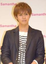 『Samantha Vega』新CM公開イベントに出席した片寄涼太 (C)ORICON NewS inc.