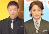 NHK大河ドラマ『真田丸』の新たな出演者として発表された(左から)山本耕史、片岡愛之助 (C)ORICON NewS inc.