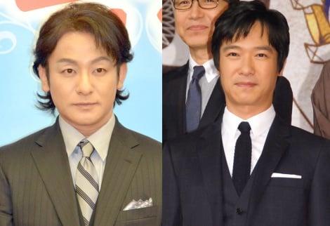 『真田丸』では盟友を演じることになった(左から)片岡愛之助、堺雅人 (C)ORICON NewS inc.
