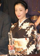 『第27回東京国際映画祭』最優秀女優賞を受賞した宮沢りえ (C)ORICON NewS inc.