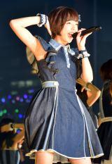 乃木坂46「真夏の全国ツアー2015」最終公演に登場した和田まあや(C)ORICON NewS inc.