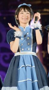 乃木坂46「真夏の全国ツアー2015」最終公演に登場した生駒里奈 (C)ORICON NewS inc.