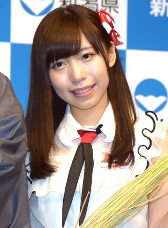『新潟の新しい米 名前発表会』に出席したNGT48・宮島亜弥(C)ORICON NewS inc.