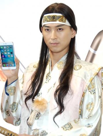 KDDI『iPhone 6s/iPhone 6s Plus』発売イベントに出席した松田翔太 (C)ORICON NewS inc.