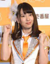 CoCo壱番屋×SKE48コラボキャンペーン3周年記念記者発表会に出席した熊崎晴香 (C)ORICON NewS inc.