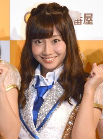 CoCo壱番屋×SKE48コラボキャンペーン3周年記念記者発表会に出席した柴田阿弥 (C)ORICON NewS inc.