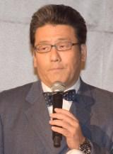舞台『MORSE-モールス-』の制作発表会に出席した軽部真一アナウンサー (C)ORICON NewS inc.