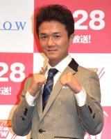 『TOUCH!WOWOW2015』記者会見に出席した木村裕選手 (C)ORICON NewS inc.