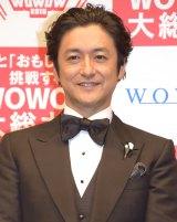 『TOUCH!WOWOW2015』記者会見に出席した石丸幹二 (C)ORICON NewS inc.