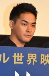 映画『合葬』初日舞台あいさつに登壇した柳楽優弥 (C)ORICON NewS inc.