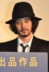 映画『合葬』初日舞台あいさつに登壇したオダギリジョー (C)ORICON NewS inc.