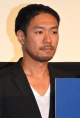 映画『合葬』初日舞台あいさつに登壇した小林達夫 (C)ORICON NewS inc.