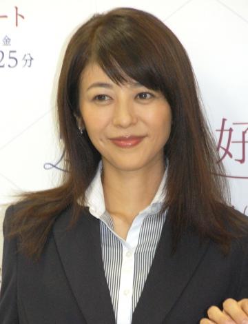 ドラマ『別れたら好きな人』の囲み取材会に出席した白石美帆 (C)ORICON NewS inc.