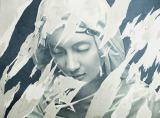 関西テレビ・フジテレビ系で10月20日にスタートする新ドラマ『サイレーン 刑事×彼女×完全悪女』のポスタービジュアル。背景の石膏像のような女性は特殊メイクを施した菜々緒(C)カンテレ