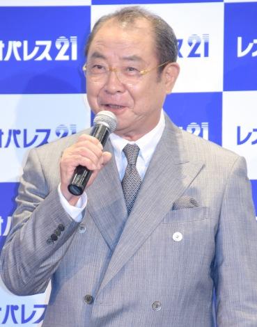 『レオパレス21』新CM発表会に出席した平泉成 (C)ORICON NewS inc.