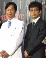 互いに初共演の印象を語り合った(左から)椎名桔平、滝藤賢一 (C)ORICON NewS inc.