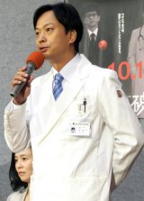 NHKドラマ『破裂』試写会に出席した椎名桔平 (C)ORICON NewS inc.