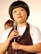 映画『ピッチ・パーフェクト2』スペシャルプレミアイベントに出席したおかずクラブ・オカリナ (C)ORICON NewS inc.