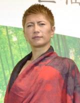 福山の結婚を祝福も「一人は寂しいね」と語ったGACKT (C)ORICON NewS inc.