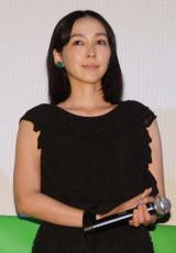 映画『グラスホッパー』完成披露試写会に出席した麻生久美子 (C)ORICON NewS inc.