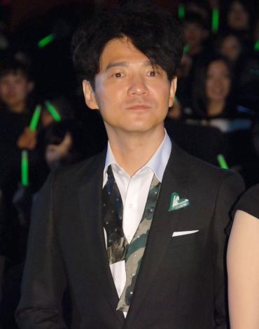 映画『グラスホッパー』完成披露試写会に出席した吉岡秀隆 (C)ORICON NewS inc.