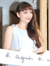 松屋銀座店『Rue du Jour』オープニングセレモニーに出席した豊田エリー (C)ORICON NewS inc.