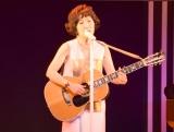 『ニッポン放送HAPPY FM93の日』の記念式典で生歌を披露した森山良子 (C)ORICON NewS inc.