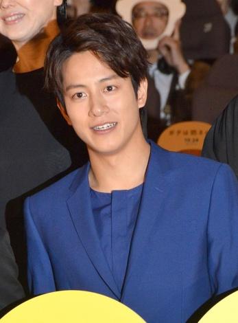 映画『ボクは坊さん。』の完成披露試写会に出席した溝端淳平 (C)ORICON NewS inc.