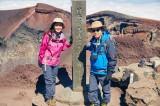 人生初の富士山に挑んだタモリ。NHK『ブラタモリ』で10月10日から3週にわたって放送(C)NHK