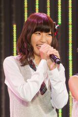 NMB48劇場で行われたチームBII公演のアンコールに登場した上枝恵美加 (C)NMB48