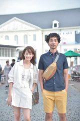 映画『ママは日本へ嫁に行っちゃダメというけれど。』に出演する(左から)ジエン・マシュー、中野裕太