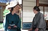 NHK連続テレビ小説『あさが来た』第6回(10月3日放送)より。(左から)白岡新次郎(玉木宏)、白岡正吉(近藤正臣)