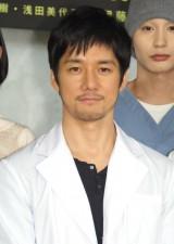 ドラマ『無痛〜診える眼〜』の制作発表会に出席した西島秀俊 (C)ORICON NewS inc.